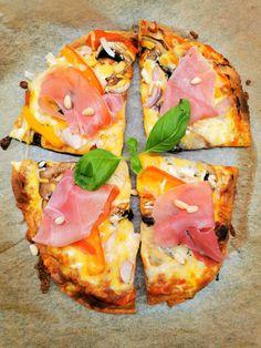 Lavkarbo middag oppskrifter - Sunne og næringsrike oppskrifter Vegetable Pizza, Bacon, Food And Drink, Low Carb, Keto, Vegetables, Vegetable Recipes, Pork Belly, Veggies