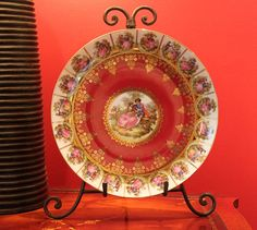 Schaller Bavaria Serving Plate.  Antique by AnythingDiscovered, $94.00