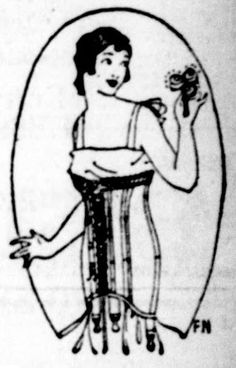 Lady's Corset - From the  November 9, 1917edition of The Seattle Star