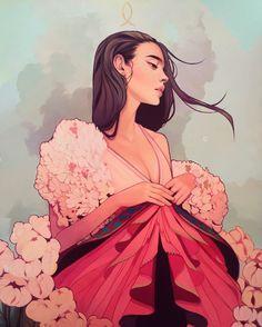 Las deliciosas ilustraciones de Kelsey Beckett
