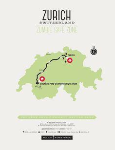 Zombie Safe Zone - Zurich Map