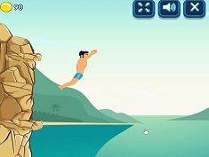 لعبة القفز من المرتفعات في الماء Cliff Diving Game Adventure Movie Posters Movies