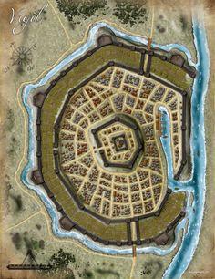 Pathfinder RPG - City Map Folio