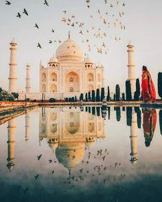 Taj Mahal. .Agra India