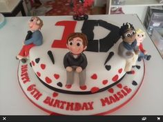 The One Direction Cake  Cake by ASH (Sugarella)