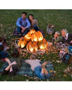 What a cute idea for a family photo shoot! DIY Pumpkin fireplace: http://blog.homesav.com/index.php/2012/10/pumpkin-patch-faux-fireplace-tutorial/#more-246