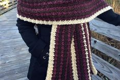 Easy Women's Crochet Wrap, Easy Crochet Shawl Pattern, Chocolate Covered Cherries Wrap, Women's Blanket Scarf Pattern, Warm Winter Wrap Source by deedeemartel Baby Poncho, Ombre Yarn, Chocolate Covered Cherries, Crochet Poncho, Crochet Waistcoat, Crochet Scarves, Crochet Baby, Poncho Tops, Blanket Scarf