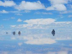 Salar de Uyuni ウユニ塩湖。生きてるうちに行ってみたい!
