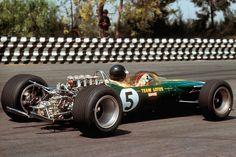 Lotus, Jim Clark, Mexico '67