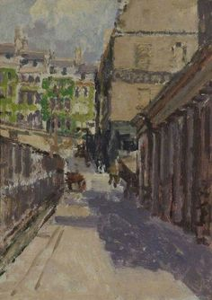 Walter Sickert - Belmount and Back of Assembly Rooms