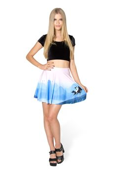 Mulan Skater Skirt by Black Milk Clothing $60AUD