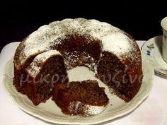 Είχαν μαζευτεί αρκετοί λόγοι για να φτιάξω αυτό το κέικ. Και πιστέψτε με, ήταν όλοι πάρα πολύ σοβαροί! :-p 1) Η νέα αλουμινένια φόρμα που ... Brownie Cake, Brownies, Apple Cake, Dessert Recipes, Desserts, Sweets, Cooking, Breakfast, Food
