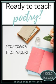 Looking for strategies for teaching poetry? This post will guide you through simple ways to introduce poems and teach critical thinking and analysis skills. Teaching Poetry, Teaching Writing, Teaching Ideas, What Is Poetry, Formative And Summative Assessment, Teaching Critical Thinking, 8th Grade Ela, Brain Based Learning, Arts And Crafts Storage