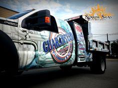 Plumbing contractor vehicle wraps