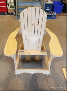 How To Make An Adirondack Chair – The Easy Way
