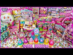~☀*★~ SHOPKINS WEEK BEGINS~★*☀~ SHOPKINS themed Giant PLAY DOH SURPRISE EGG Reveal Video - YouTube