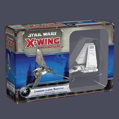 Star Wars X-Wing Lambda Class Shuttle from Fantasy Flight!