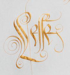 Jordan Jelev lettering