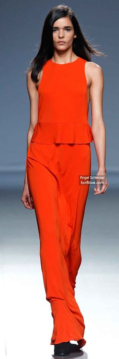 Angel Schlesser FW 2014 #MadridFashionWeek