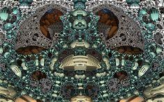 """Greed and Envy"" by Rick J.     DsyneGrafix on http://Shadowness.com/dsynegrafix #fractal #art"