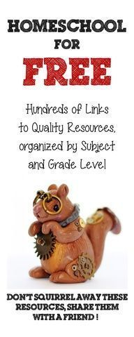 The Free List- Free Homeschool Curriculum, Links and Websites for Kids