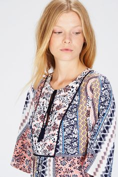 Summers coming and I'm loving this top with Oriental prints #summer#beach#prints#fun#sunshine #sun | warehouse