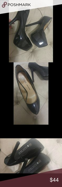 "Chinese Laundry Patent Platform Pump ""Perfect Ten"" black platform pump. Never worn, 6"" heel, size 8.5. No box. Chinese Laundry Shoes Heels"