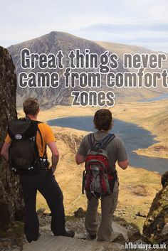 For stepping out beyond your comfort zone, the view is better there.  #GoodMorning