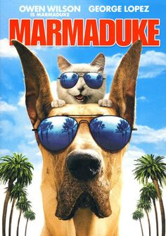 Marmaduke - A suburban family moves to a new neighborhood with their large yet lovable Great Dane, who has a tendency to wreak havoc in his own oblivious way. (2010)