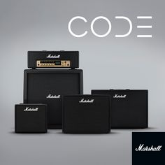 Marshall Amplification — Introducing CODE: a new generation of Marshall...