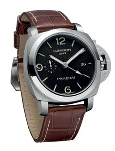 Panerai's new manufacture caliber P.9001 drives the Luminor 1950 3 Days GMT Automatic (PAM 320)