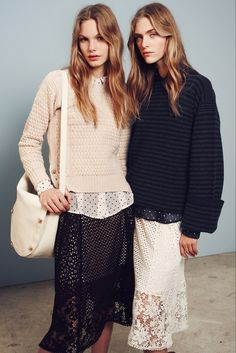Pre Fall 2015 // See by Chloé: <br/> Von Everyday Looks, Fransen und Overknees