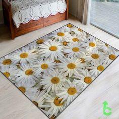 New Beauty White Flower Blanket