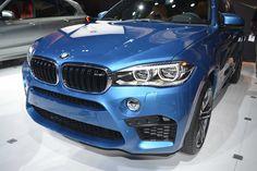 The new BMW X6M at the LA Motorshow