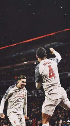 Liverpool Anfield, Liverpool Players, Liverpool Football Club, Virgil Van Dijk, You'll Never Walk Alone, Football Photos, Camp Nou, Football Players, Mo Salah