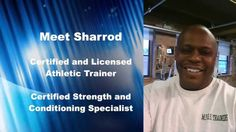 Sharrod holds a Masters Degree in Education (MEd) from the University of Phoenix and a Bachelors Degree in Kinesiology-Athletic Training (Sports Medicine), with a double major in Exercise Science from the University of Illinois at Chicago (UIC) He is a Certified/Licensed Athletic Trainer (ATC/L) and a Certified Strength and Conditioning Specialist (CSCS). He is a Certified CPR/AED Instructor with the American Heart Association.