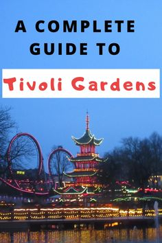 Tivoli Gardens is a must-visit tourist sight in Copenhagen, Denmark. It is an iconic theme park with tons of fun rides! Click through to learn everything you need to know for your visit to Tivoli Gardens. From tickets to rides to food and more, if you're going to Copenhagen and Tivoli Gardens, this is a must-read!