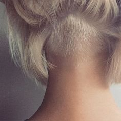 go shorter Undercut Bob shorter Lob Hairstyle, Undercut Hairstyles, Pretty Hairstyles, Undercut Long Hair, Bob With Undercut, Undercut Bob Haircut, Nape Undercut, Hair Inspo, Hair Inspiration