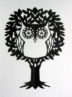 Love her paper cuts! She does custom work, too.