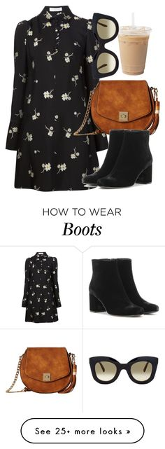 """Untitled #5825"" by laurenmboot on Polyvore featuring Chloé, Gabriella Rocha, Yves Saint Laurent and CÉLINE"