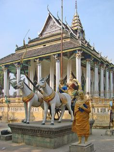 Wat Damreï Sâ, Battambang, Cambodia