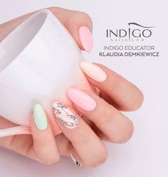 Gel Polish Collection by Natalia Siwiec from Indigo Educator Klaudia Demkiewicz #nails #nail #pastel #indigo #natalia #siwiec #summer #hot #trendy #sexy