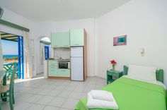 Victoria Studios and Apartments in Naxos, Mikri Vigla Studio Apartment, Pavilion, Cabinet, Storage, Room, Furniture, Home Decor, Clothes Stand, Homemade Home Decor