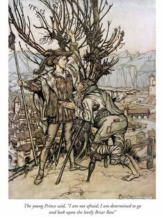 Welcome to Dover Publications - Briar Rose - illustration by Arthur Rackham