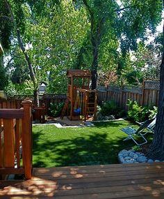 Family fun space - transitional - landscape - san francisco - Kristen Rudger Landscape Design