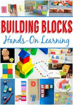 Hands on learning with building blocks