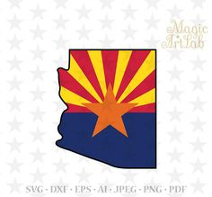 Arizona state svg, American cut, USA state, Patriotic print, arizona clipart, Arizona SVG, Patriotic cut, Arizona cut, Cricut American state