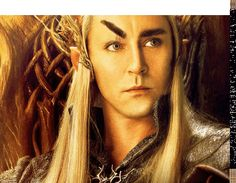 Thranduil's majestic eyebrows