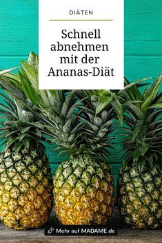 Ananas-Diät, um Gewicht 10 Kilo zu verlieren