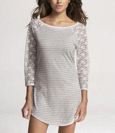 cute nightgown- I pair it with leggings for lounging around the house Sexy Pajamas, Cute Pajamas, Sleepwear & Loungewear, Lingerie Sleepwear, Cute Nightgowns, Nighties, Lounge Outfit, Lounge Wear, Girl Fashion